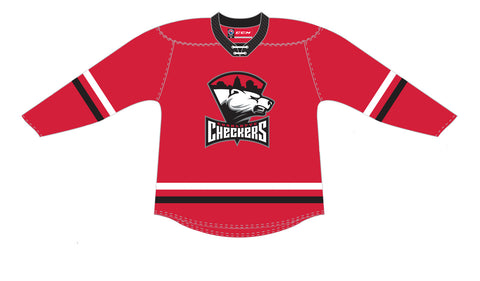 CCM Quicklite Charlotte Checkers Premier Red Jersey