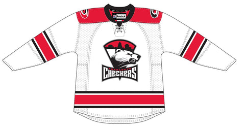 Reebok Charlotte Checkers Premier White Jersey (Clearance)