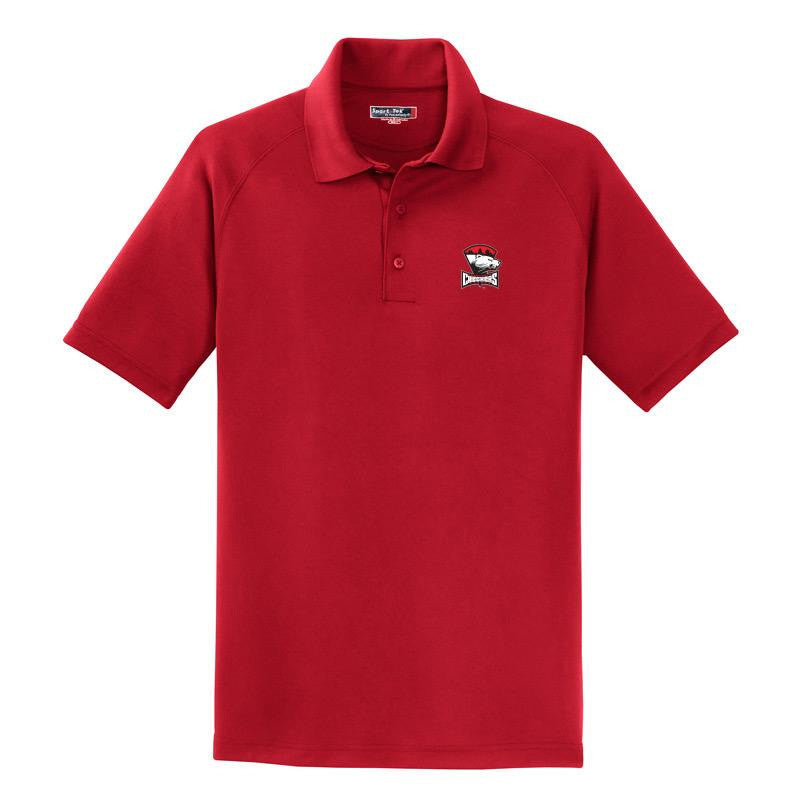 Charlotte Checkers (Red) Polo Shirt (sidewalk sale)