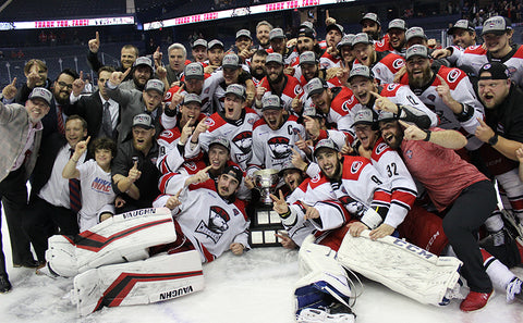 Charlotte Checkers 2019 Calder Cup Champions Team Photo