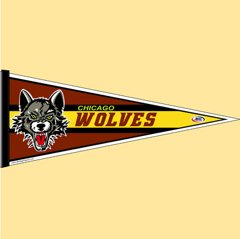Chicago Wolves Team Pennant