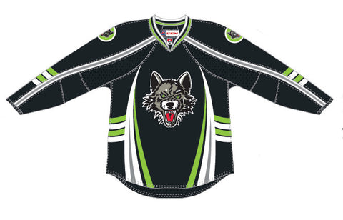 CCM Chicago Wolves Premier Third Jersey (Black)