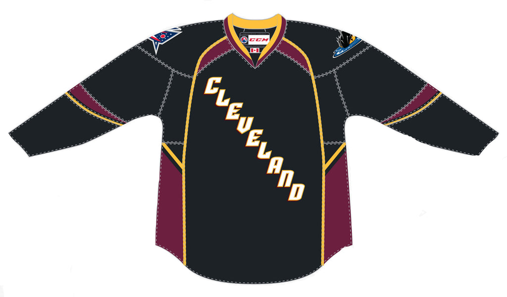 CCM Cleveland Monsters Premier Away Jersey
