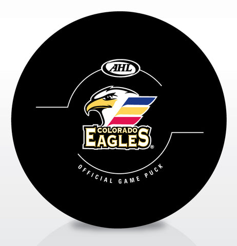 Colorado Eagles Official Game Puck