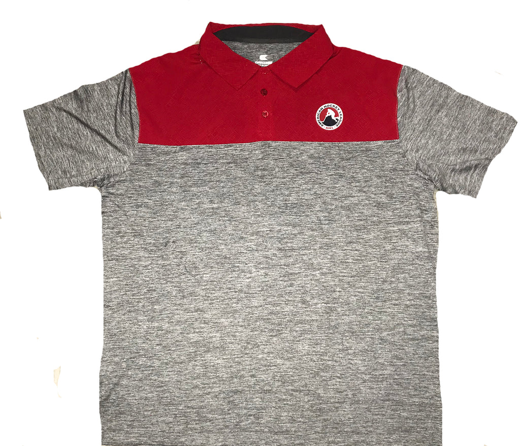 Colosseum AHL Adult Woven Short Sleeve Polo