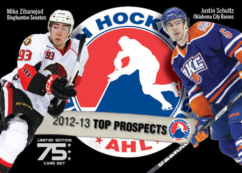2012-13 AHL Top Prospects Trading Card Set