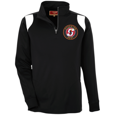 Stockon Heat Team 365 Performance Colorblock 1/4 Zip