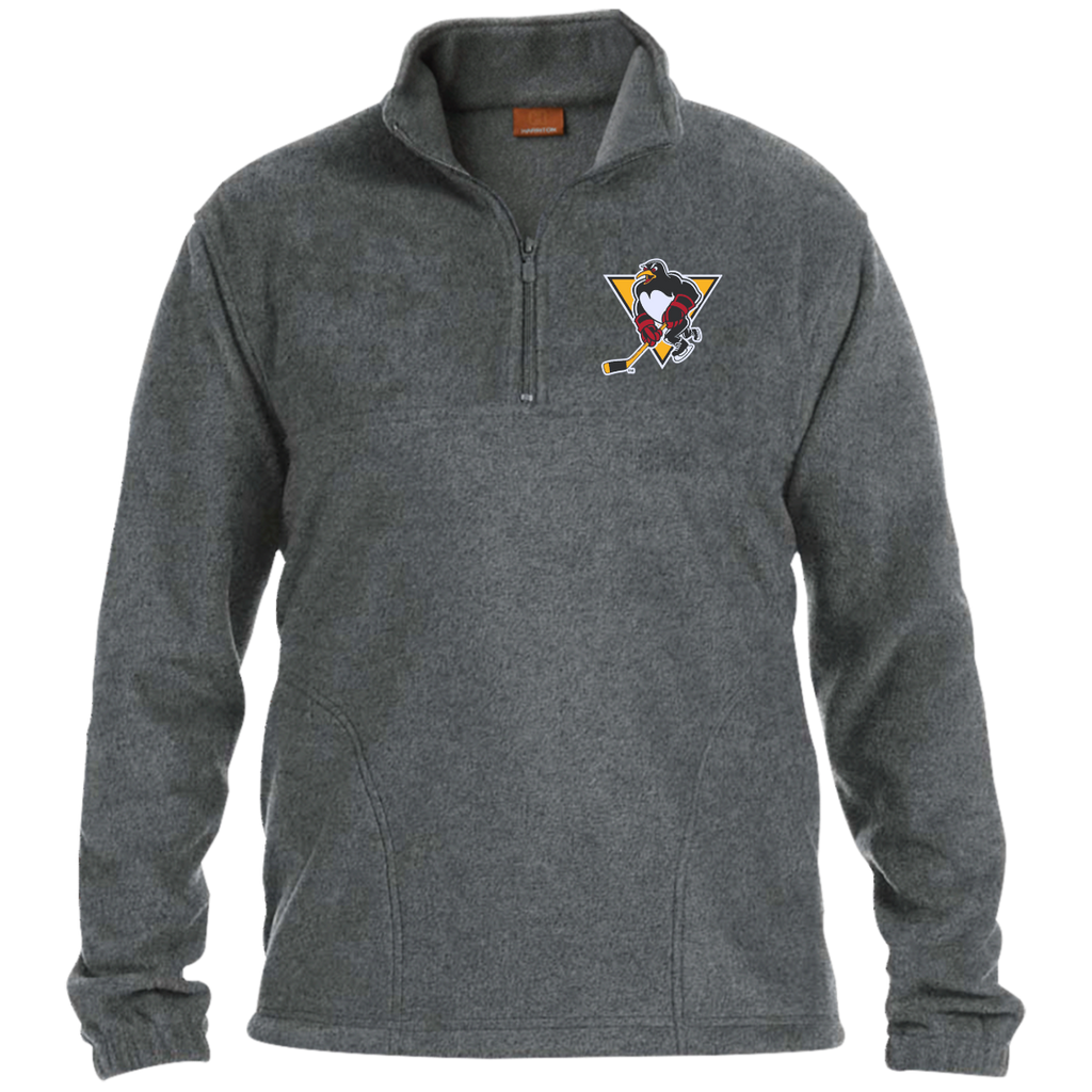 Wilkes-Barre/Scranton Penguins Adult Embroidered 1/4 Zip Fleece Pullover