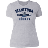 Manitoba Moose Ladies' Established Next Level Short Sleeve T-Shirt