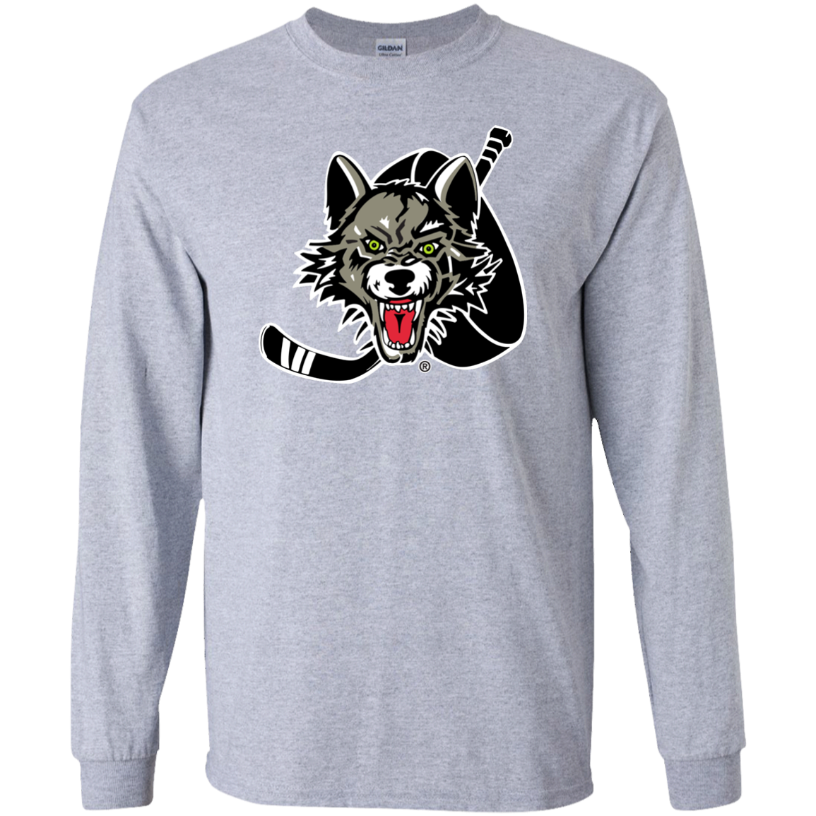 3a96d61450e Chicago Wolves Adult Long Sleeve Primary Logo T-Shirt – ahlstore.com