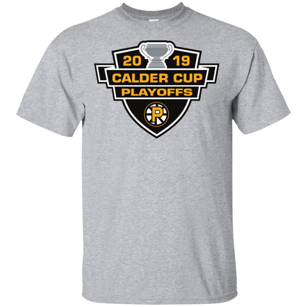 Providence Bruins 2019 Calder Cup Playoffs Adult Cotton T-Shirt