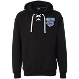Bridgeport Sound Tigers Adult Heavyweight Sport Lace Hoodie