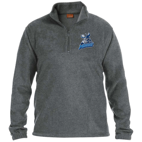 Manitoba Moose 1/4 Zip Fleece Pullover