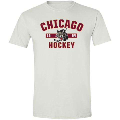 Chicago Wolves Adult Established Softstyle T-Shirt
