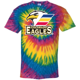 Colorado Eagles Primary Logo Adult Tie Dye T-Shirt