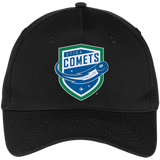 Utica Comets Five Panel Twill Cap