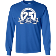 Syracuse Crunch 25th Anniversary Adult Long Sleeve T Shirt