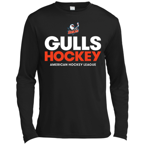 San Diego Gulls Hockey Long Sleeve Moisture Absorbing T-Shirt