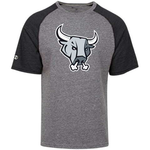 San Antonio Rampage Primary Logo Tri-blend Heathered T-Shirt