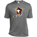 Wilkes-Barre/Scranton Penguins Primary Logo Adult Heather Dri-Fit Moisture-Wicking T-Shirt