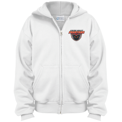 Lehigh Valley Phantoms Youth Embroidered Full Zip Hoodie