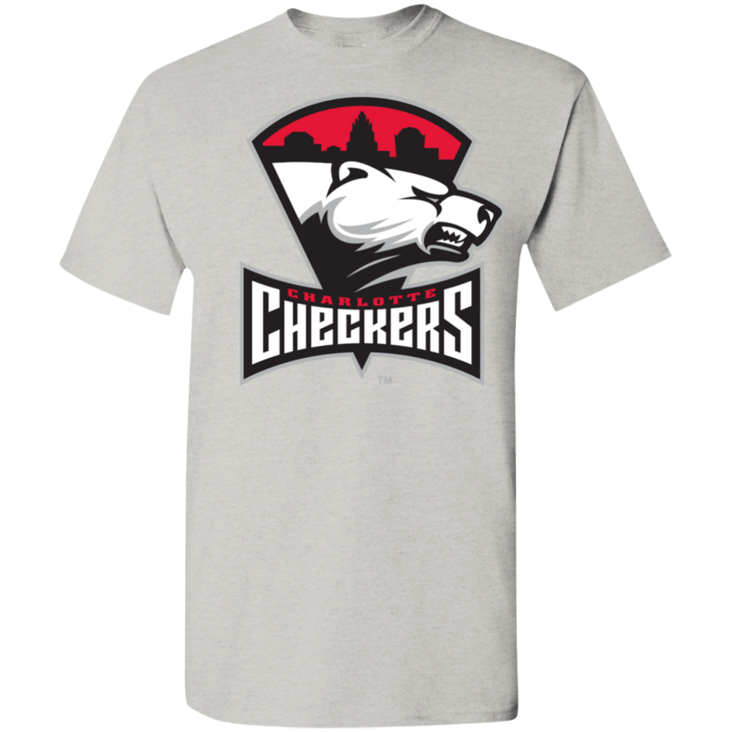 Charlotte Checkers Youth Primary Logo Cotton T-Shirt