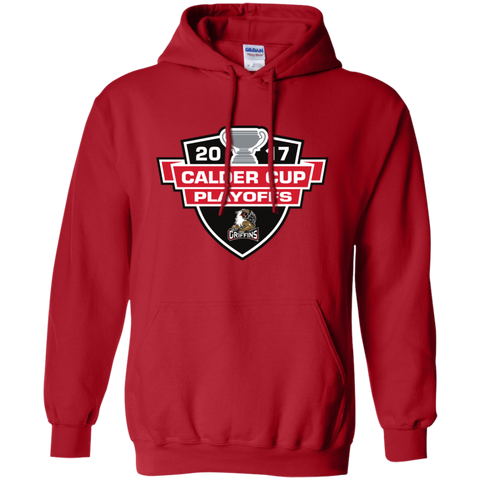 Grand Rapids Griffins Adult 2017 Calder Cup Playoffs Pullover Hoodie