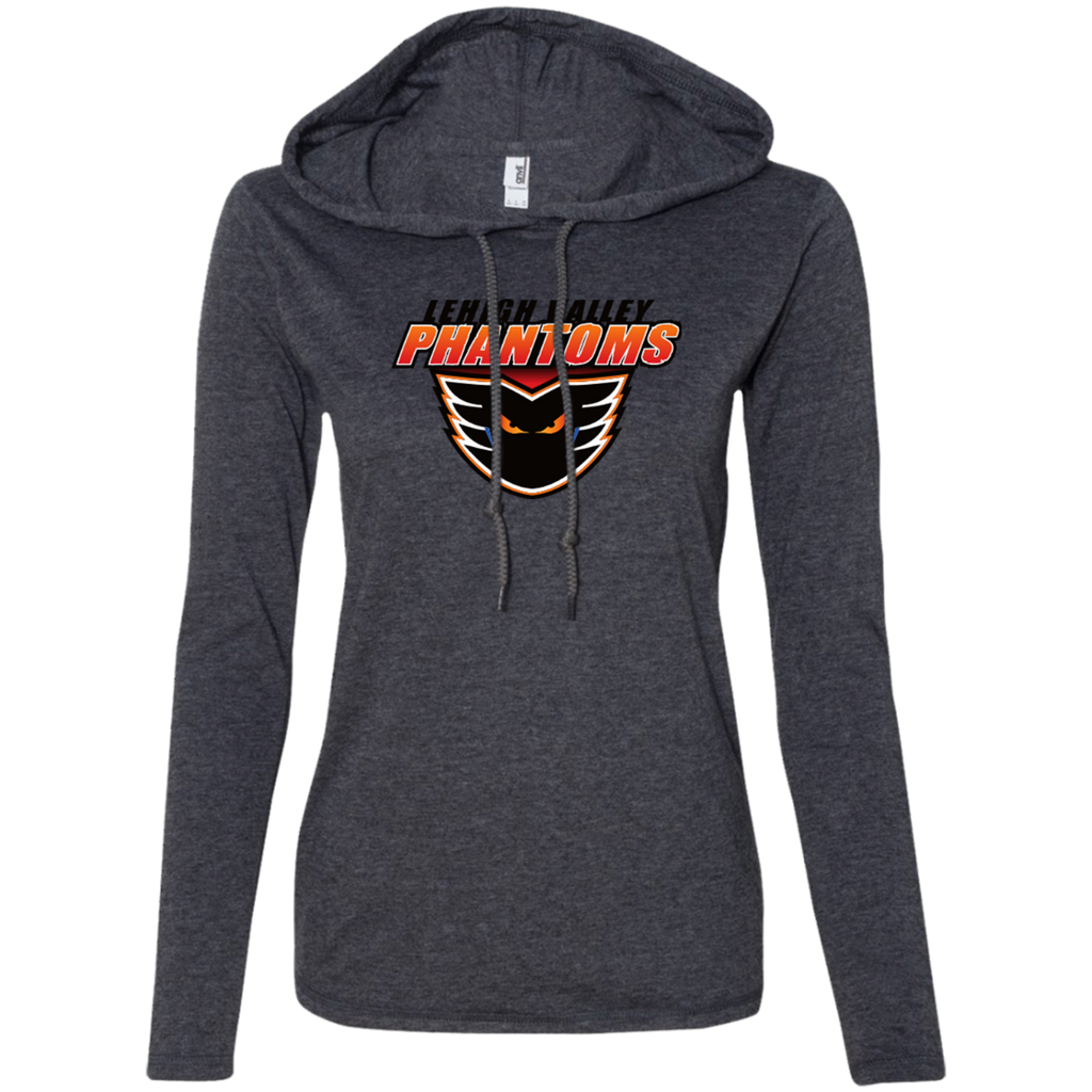 Lehigh Valley Phantoms Ladies Long Sleeve T-Shirt Hoodie