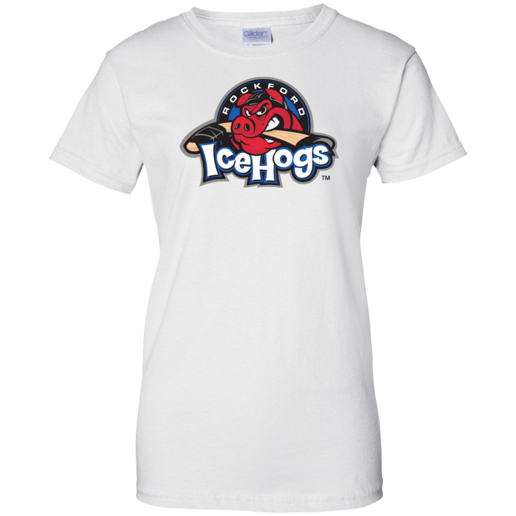 Rockford IceHogs Ladies' 100% Cotton T-Shirt