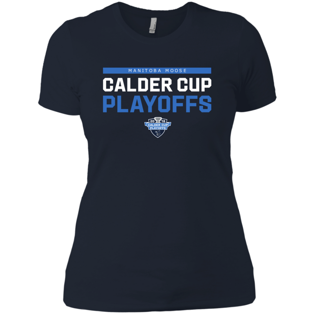 Manitoba Moose 2018 Postseason Next Level Ladies' T-Shirt