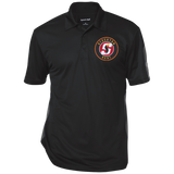 Stockton Heat Performance Textured Three-Button Polo