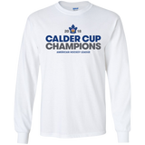 Toronto Marlies 2018 Calder Cup Champions Adult Crown Long Sleeve T-Shirt