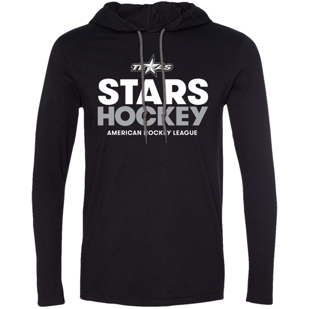 Texas Stars Hockey Long Sleeve Adult T-Shirt Hoodie