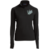 Iowa Wild Women's Half Zip Performance Pullover