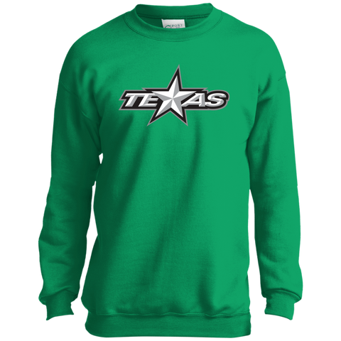 Texas Stars Youth Crewneck Sweatshirt