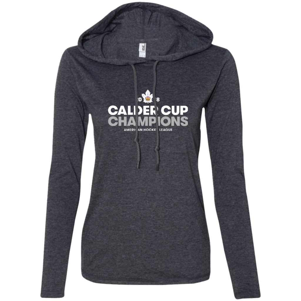 Toronto Marlies 2018 Calder Cup Champions Crown Ladies' Long Sleeve T-Shirt Hoodie