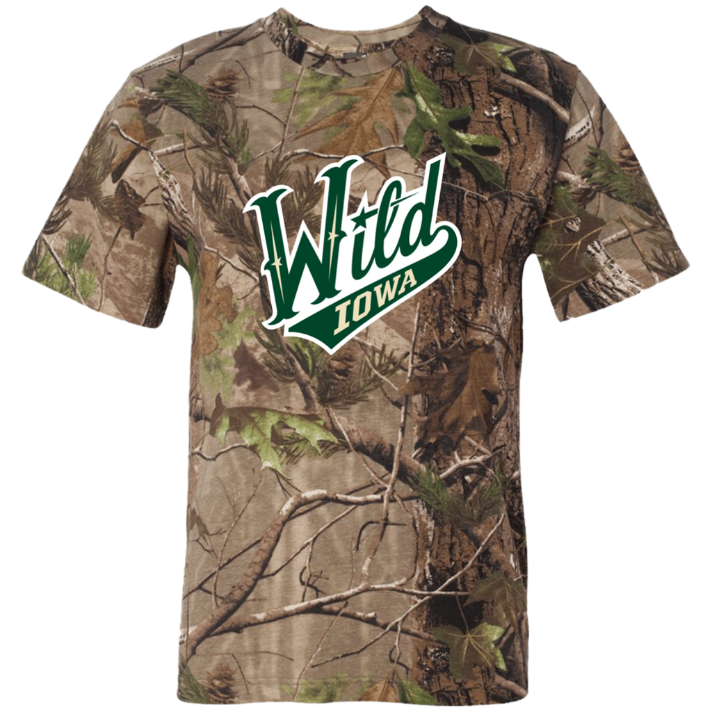 Iowa Wild Adult Short Sleeve Camouflage TShirt