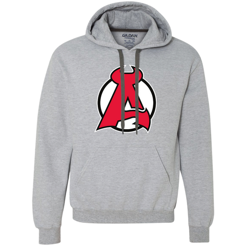 Albany Devils Adult Heavyweight Pullover Fleece Sweatshirt