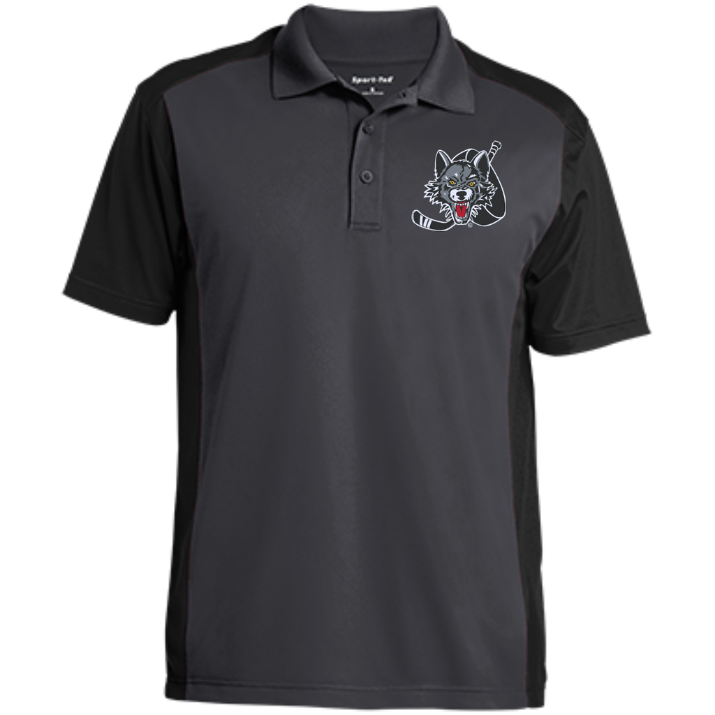 Chicago Wolves Men's Colorblock Sport-Wick Polo