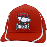 Charlotte Checkers Flexfit Colorblock Cap