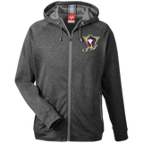 Wilkes-Barre/Scranton Penguins Team 365 Men's Heathered Performance Hooded Jacket