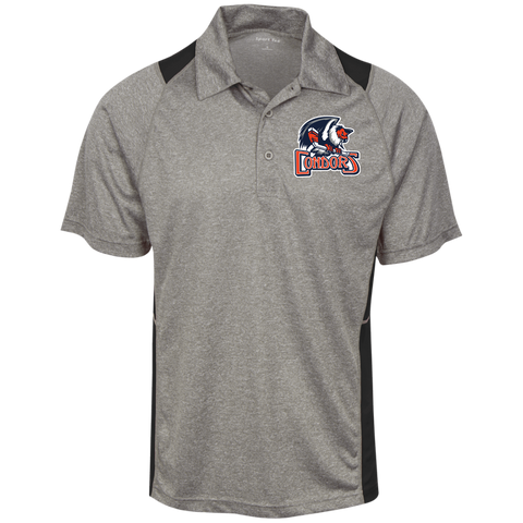 Bakersfield Condors Heather Moisture Wicking Polo