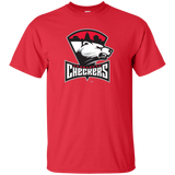 Charlotte Checkers Primary Logo Adult Short Sleeve T-Shirt