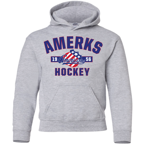 Rochester Americans Established Youth Pullover Hoodie