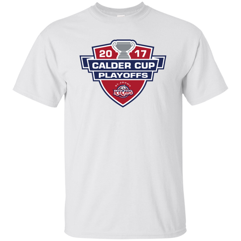 St. John's IceCaps Adult 2017 Calder Cup Playoffs Short Sleeve T-Shirt