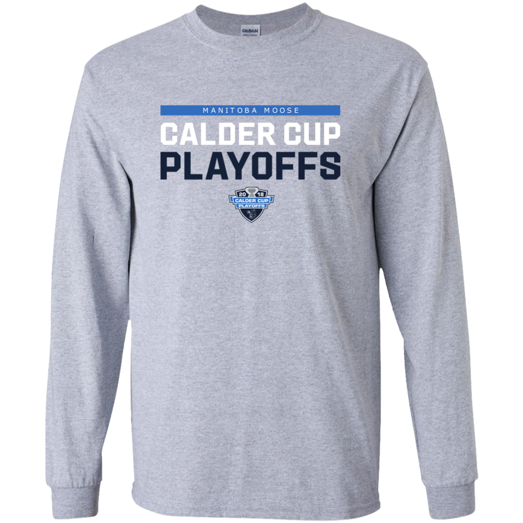 Manitoba Moose Adult 2018 Postseason Cotton T-Shirt