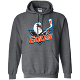 San Diego Gulls Primary Logo Adult Pullover Hoodie