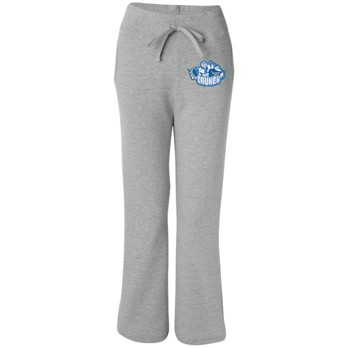 syracuse crunch womens open bottom sweatpants with
