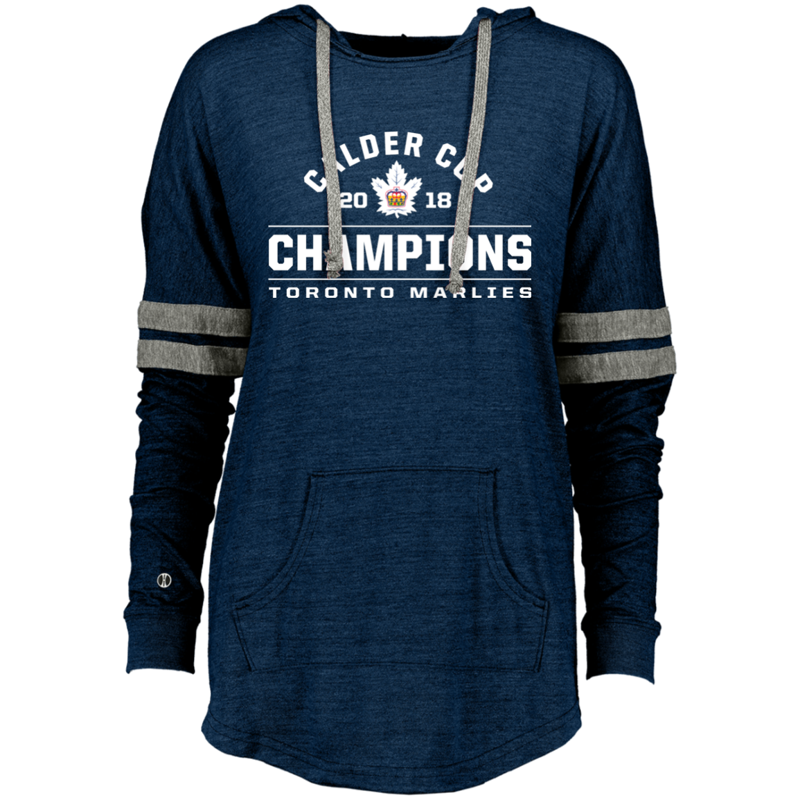 60b4a90c Toronto Marlies 2018 Calder Cup Champions Arch Ladies Hooded Pullover –  ahlstore.com