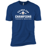 Toronto Marlies 2018 Calder Cup Champions Arch Adult Next Level Premium Short Sleeve T-Shirt